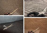 Soft Velvet Jumbo Cord Chenille Fabric Sofa Cushions Upholstery Flame Retardant