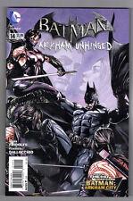 BATMAN ARKHAM UNHINGED #14 - MICO SUAYAN COVER - FEDERICO DALLOCHIO ART - 2013