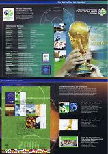 BRD 2006: Fußball-WM-Erinnerungsblatt mit Block Nr. 67! Bonner Stempel! 1802
