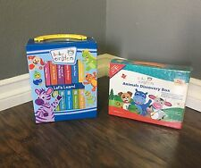 Baby Einstein 12 Board Book Colors Numbers + 4 Animal Discovery Boxed Sets NEW!