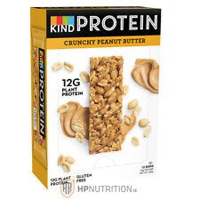 KIND Protein bars, Crunchy Peanut Butter, 12x50g bars, Gluten Free BB 18/07/20