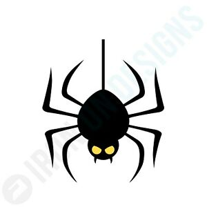 HALLOWEEN SPIDER ICON - IRON ON TSHIRT TRANSFERS- A6 A5 A4