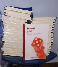 """35 volumi """"il mondo matematico"""" RBA ed. 2011, per condizioni vedi descrizione."""