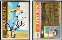 Jose Silva Signed 1995 Action Packed #16 Card Toronto Blue Jays Auto Autograph