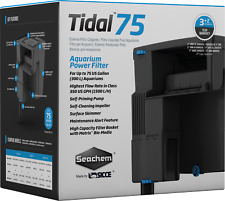 Seachem Tidal 75 Power Hang On Filter Fish Tank Aquarium Salt & Fresh