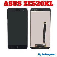 "DISPLAY LCD+TOUCH SCREEN per ASUS ZENFONE 3 ZE520KL 5,2"" VETRO NERO Z017D Z017DA"
