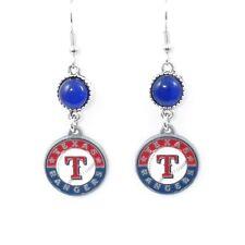TEXAS RANGERS CATS EYE EARRINGS 21427 new baseball sports jewelry