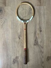 Vintage Dunlop Maxply Fort Wooden Badminton Racquet Racket International Model