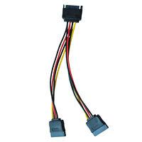 6in SATA-Strom Y Verteilerkabel Adapter - M / W (Stromkabel) MA