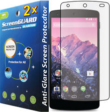 2x Anti-Glare Matte LCD Screen Protector Guard Film LG Google Nexus 5 D820 D821