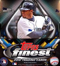 2016 Topps Finest Baseball Hobby Box 2 Mini Boxes Per Box