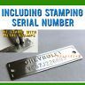 CHEVROLET VIN PLATE CHEVY SERIAL NUMBER DATA ID VIN TAG 1953-1963 -with screws-