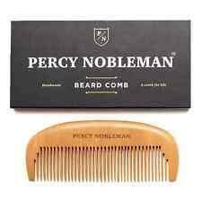 Wooden Beard Comb by Percy Nobleman
