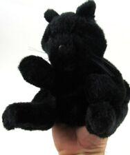 Folkmanis BLACK KITTEN Hand Puppet Furry Folks Puppets FolkTails Retired