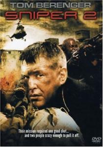 Sniper 2 DVD Tom Berenger Action War Movie 2002 B GRADE