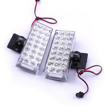 2x 12V 22LED white Flashing Strobe Emergency Light waterproof 5W Car auto LED