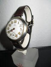 OMEGA Vintage Silber Uhr Armbanduhr emailliert Jugendstil um 1918