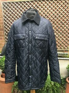 Barbour ARKENSIDE navy MQU0056NY91 quilted jacket men's size XL