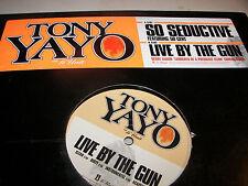 "Tony Yayo So Seductive / Live By The Gun 12"" Single NM 2005 PROMO 2 copies"
