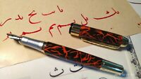 Jinhao fountain pen qalam with left oblique nib for Arabic, Farsi calligraphy D2