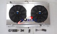 For Nissan PATROL GU Y61 PETROL 4.5L MT 97-2001 Aluminum Radiator + Shroud + Fan