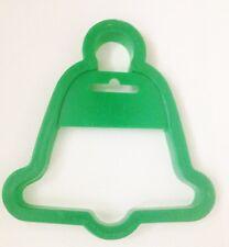 """Green 4 3/4"""" Wilton Bell Cookie Cutter Art Mold"""