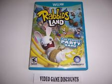 Original Box Case for Nintendo Wiiu Wii U Rabbids Land