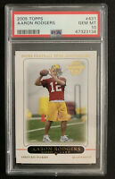 Aaron Rodgers 2005 Topps RC #431 PSA 10 Gem Mint HOF ROOKIE Green Bay Packers