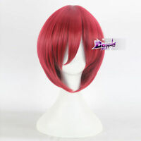 "Child's Play   12"" Short Straight Red Halloween Anime Party Cosplay Wig"