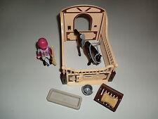 Playmobil 5112 arabes avec marron jaune pferdebox équestre cheval ferme v2