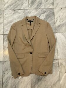 Rag & Bone New York Camel Blazer Jacket Size 4