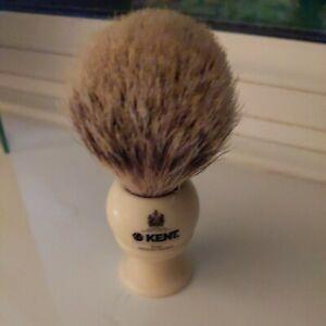 Kent Shaving Brush. Pure silvertip badger.