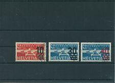 Schweiz Switzerland Jahrgang 1936 Mi. 291-293 gestempelt used Flugpost