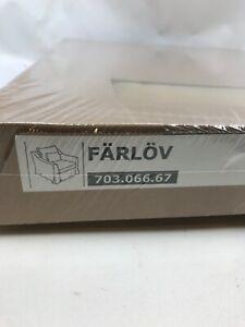 IKEA FARLOV CHAIR COVER SLIPCOVER DJUPARP VELVET YELLOW BEIGE 703.066.67 NEW