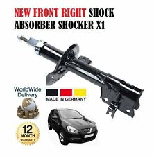 per Nissan Qashqai 1.6i 1.5 dCi 2007> NUOVO ANTERIORE DESTRO Ammortizzatore x 1