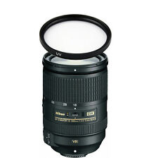 Nikon AF-S Nikkor DX 18-300mm f/3.5-5.6G ED VR Lens w/77mm UV Filter