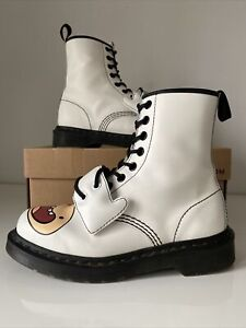 Rare Dr Martens Boots UK 4 US 6 Finn Adventure Time White