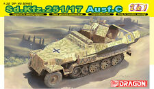 1/35 German Sd.Kfz.251/17 Ausf. C half track - 2 in 1 - Dragon DML #6592