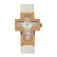 orologio solo tempo donna O.I.W. outlet casual cod. 2.CROSS WHITE