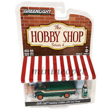 GREENLIGHT 97040 D THE HOBBY SHOP 1978 GMC VANDURA CUSTOM 1/64 w GAS PUMP Chase