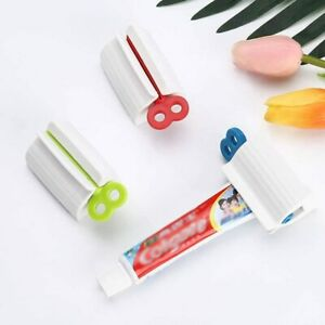 Toothpaste Squeezer Rolling Tube Squeeze Dispenser Toothpaste Seat Holder Stand