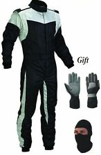 Go Kart Race Suit With Free Gift Balaclava and gloves