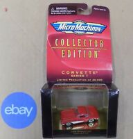 Galoob Micro Machine Collection Edition Corvette Series 1  (Select One) NIP