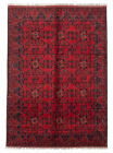 """Vintage Hand-Knotted Carpet 5'10"""" x 8'0"""" Traditional Oriental Wool Area Rug"""