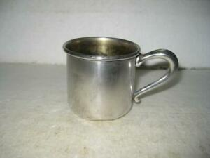 Vintage Collectible 513 WEB Sterling Silver 925 Handled Baby Cup 42 Grams