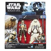 Star Wars Rogue One Scarif Stormtrooper & Moroff Figures