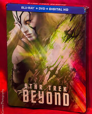 Star Trek Beyond Exclusive Lenticular Limited Edition BluRay Steelbook