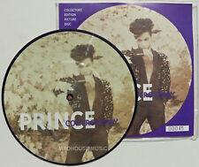 """PRINCE 7"""" Controversy / The Future Remix PICTURE DISC No 00046 ! PROMO Rare Look"""