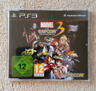 Marvel vs Capcom 3 PS3 / version promo presse / blu-ray zero rayure !