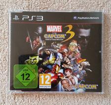 not for resale . promo only . press édition / Marvel vs Capcom 3 PS3